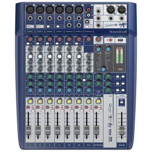 TABLE DE MIXAGE Soundcraft Signature 10 - Console de mixage 10 voi