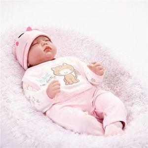 POUPÉE  TEMPSA Poupée Poupon Reborn Réaliste Bébé en Sili