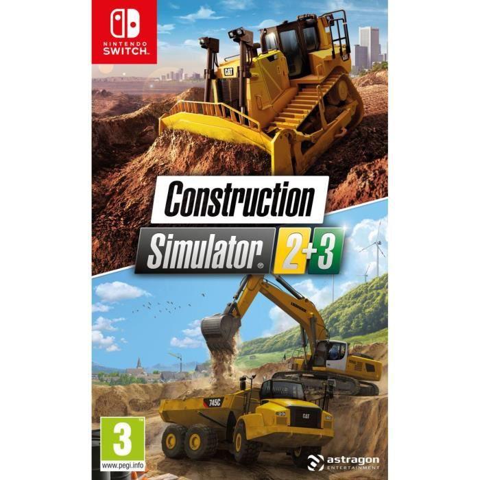 Construction Simulator 2+3 Switch