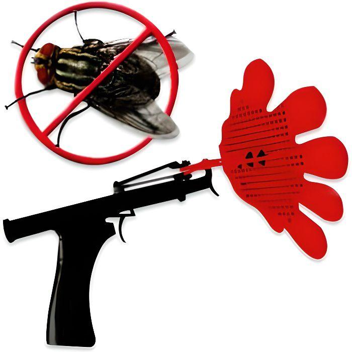 Le pistolet à mouche objet deco maison design insolite.