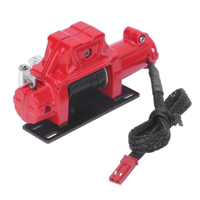 MEIHE Télécommande De Treuil Automatique 1-10 Pièce D'Accessoire De Voiture Sur Chenilles Adaptée (Rouge)