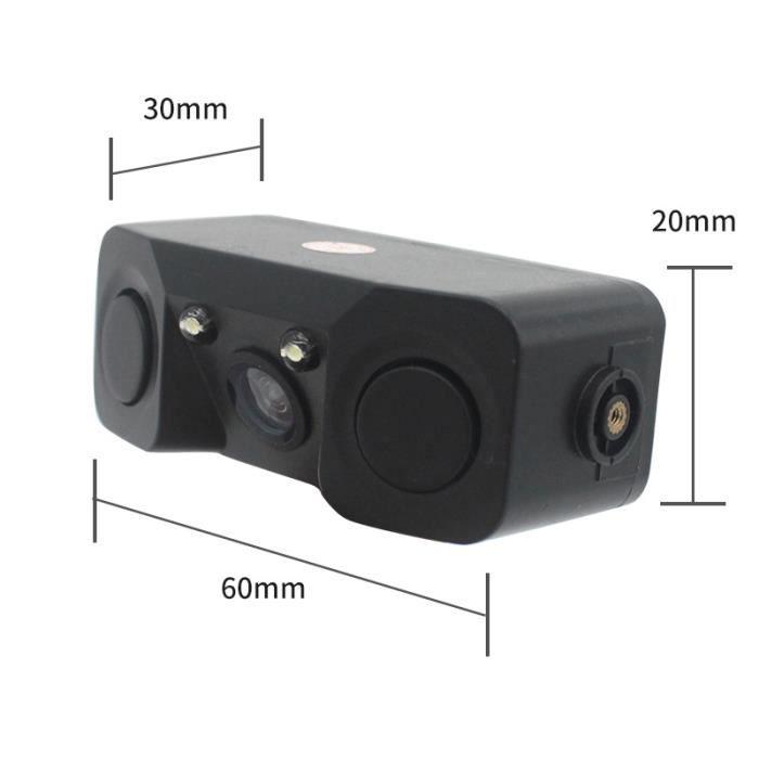 Caméra de voiture intelligente trois-en-un de recul de voiture, nouvelle caméra de recul de recul