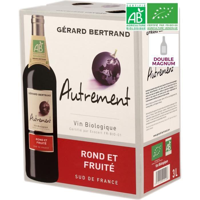 Vin rouge Pays d'Oc bio 3L Autrement