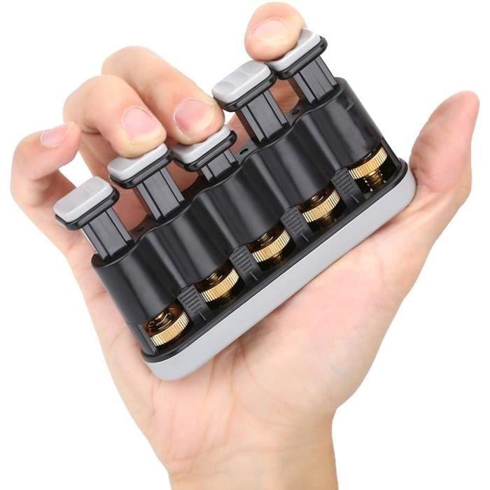 Hand Grip,Exerciseur de doigt, Outil d'exercice de doigt Force réglable Accessoire pour Guitare Piano(1pcs)