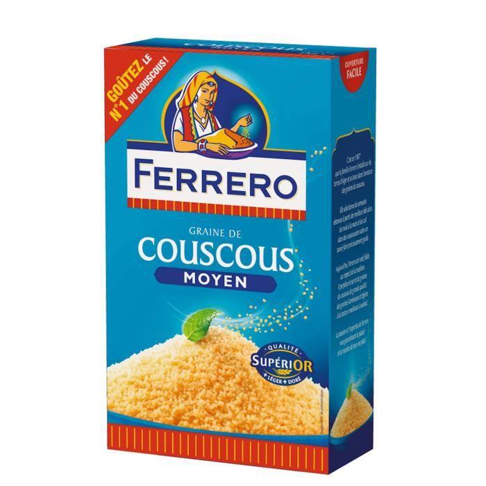 FERRERO Graine de Couscous Moyen 1 kg