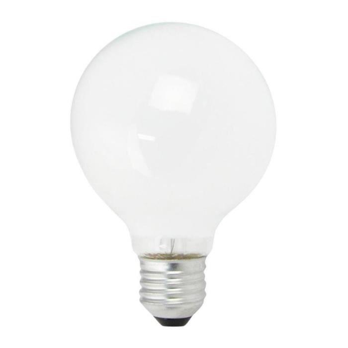 Ampoule Incandescente Globe Opal E27 G95 100W 230V - Dimmable