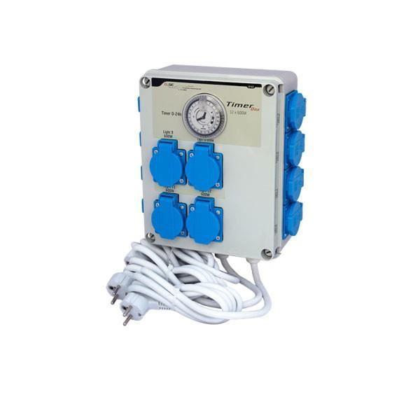 Boîtier relais timer box II - 12x600W - GSE