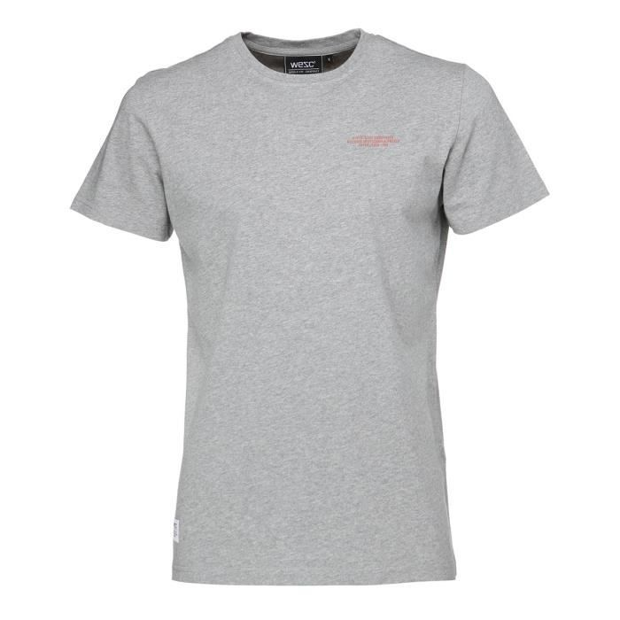 WESC T-shirt Charley - Homme - Gris