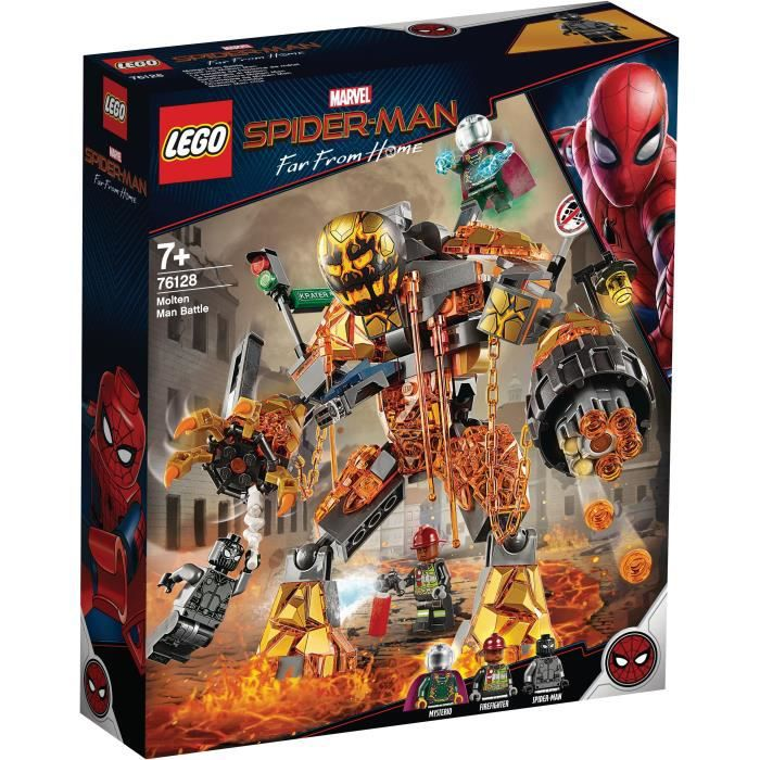 LEGO® Marvel Spider-Man 76128 Spider man et la bataille de l'Homme de métal