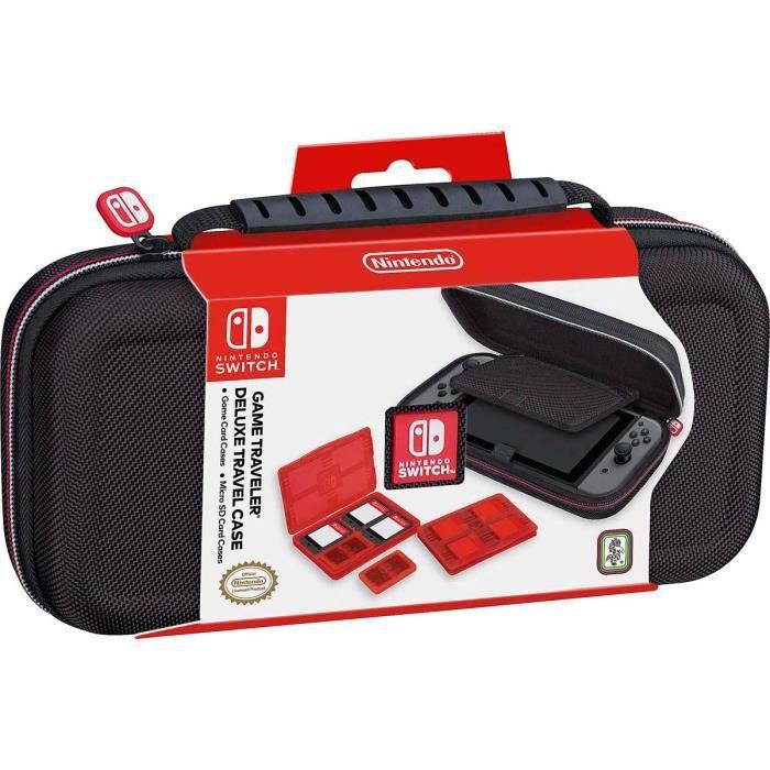 Pochette de transport Noire deluxe officielle pour Nintendo Switch