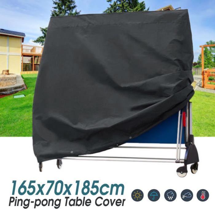 ROYAL Housse de table de ping-pong Couverture - Tissu Oxford - 165x70x185cm