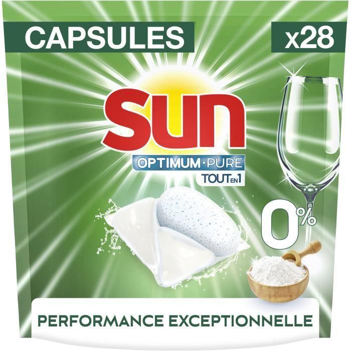 SUN Lave -Vaiselle Pure 0% - x 28 Capsules