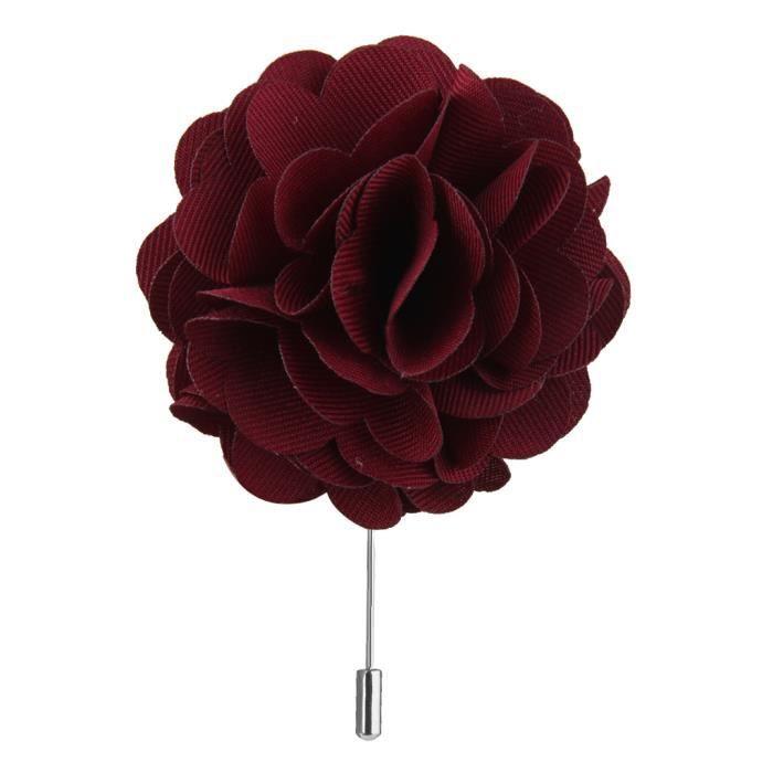 Broche Bâton Nouveau Bleu Rose Fleur Main Boutonnière Pin Cadeau de Femmes Homme