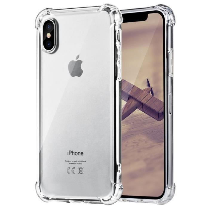 coque iphone x iphone 10 robuste tpu silicium