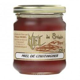 MIEL Miel de châtaignier, Pot 250 gr