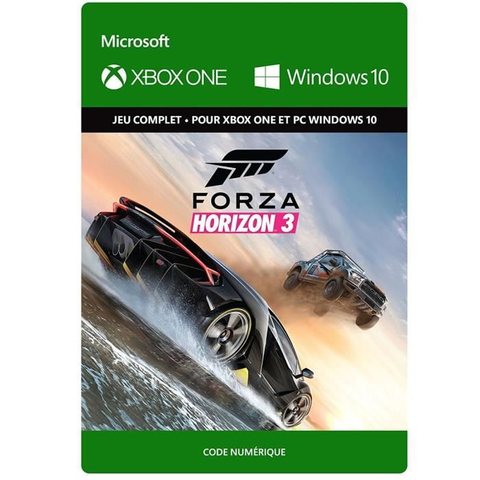 forza horizon 3 jeu xbox one t l charger achat vente jeu xbox one t l charger forza. Black Bedroom Furniture Sets. Home Design Ideas