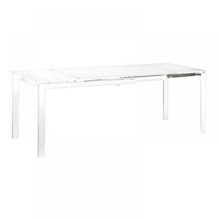 Table Repas Extensible Fly Blanche Achat Vente Table A Manger Seule Table Repas Extensible Fly Cdiscount