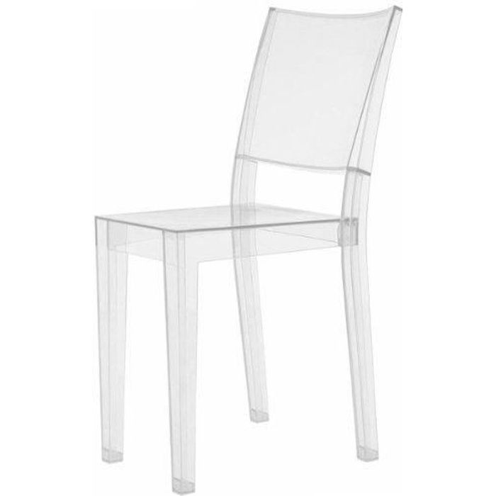 CHAISE Kartell 4850B4 Chaise La Marie Transparent