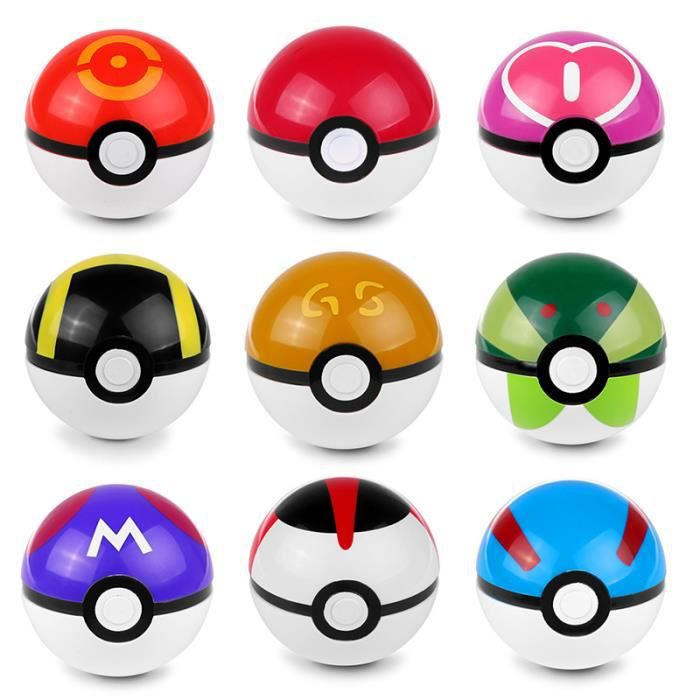 Pokemon Ball Types Images