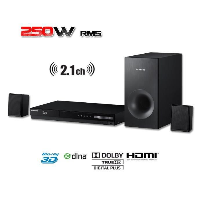 samsung ht h4200r home cin ma blu ray 3d dvd 2 1 achat. Black Bedroom Furniture Sets. Home Design Ideas