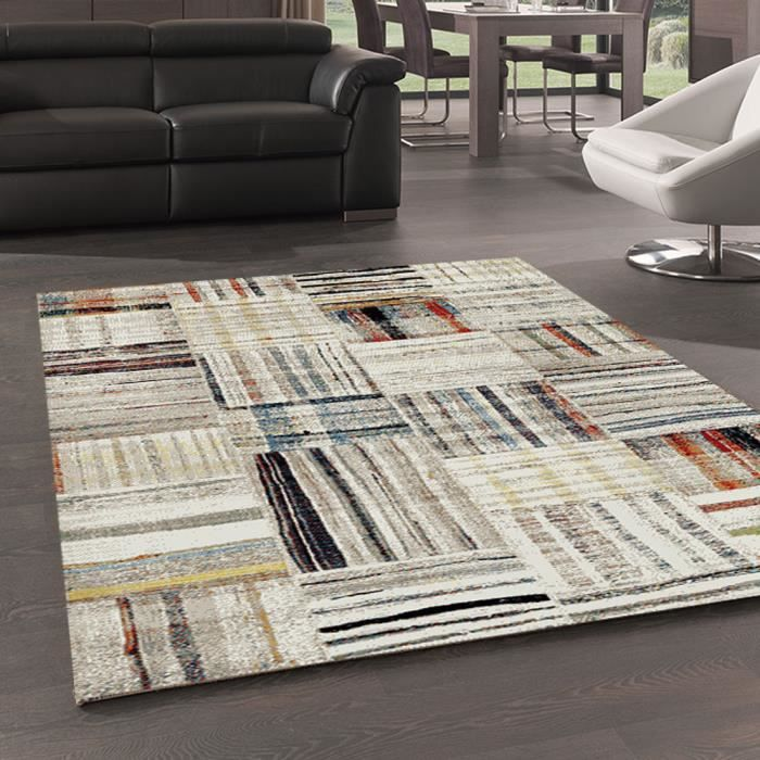 tapis carre 160x160 achat vente tapis carre 160x160 pas cher cdiscount. Black Bedroom Furniture Sets. Home Design Ideas