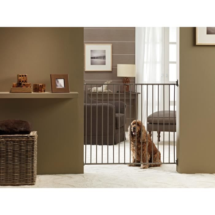 barri re porte pour chien savic achat vente barri re s curit chien barri re porte chien. Black Bedroom Furniture Sets. Home Design Ideas