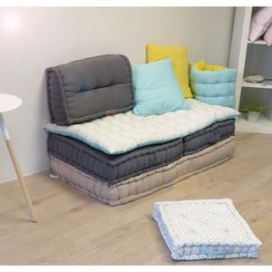 coussin de sol rectangulaire achat vente pas cher. Black Bedroom Furniture Sets. Home Design Ideas