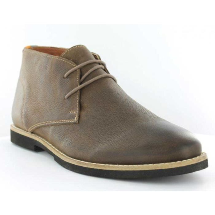 Chaussures Montante FRANCK WRIGHT Totton Brown leather Homme Pointure 45 Lae61D