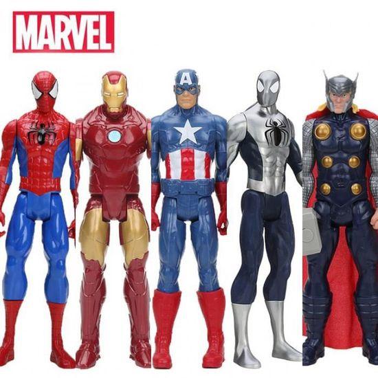Disney Marvel Avenger Spider Man prendre photo ACTION FIGURE MODEL anime décoration