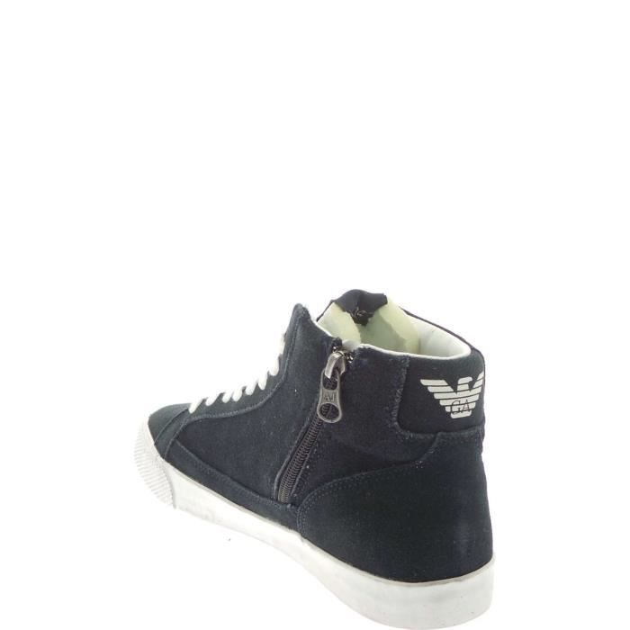Armani Jeans Sneakers Homme Grey Blue