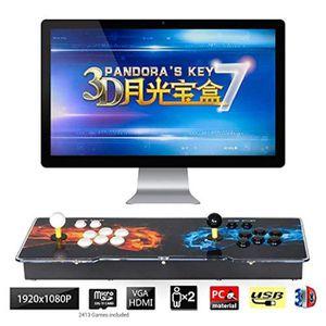 JEU CONSOLE RÉTRO Mecanique P0R6I 3d pandora key 7 console de jeux d