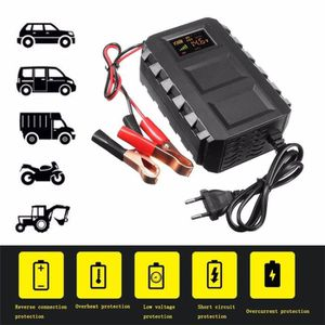 CHARGEUR DE BATTERIE Intelligent 12V 20A Automobile Acide de plomb inte