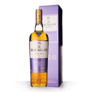 WHISKY BOURBON SCOTCH The Macallan 18 ans Fine Oak - Etui - 70cl - Singl