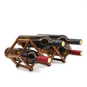PANIER DE CUISINE Étagère à vin en Bois pour Petite Bouteille de vin