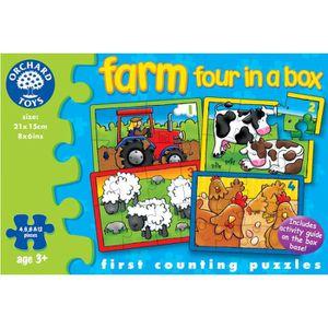 PUZZLE Puzzles ferme quatre dans une boîte