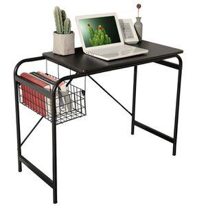 SECRÉTAIRE Table de Bureau Moderne,Bureau pour Ordinateur pou