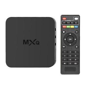 BOX MULTIMEDIA MXQ Smart TV Box - Téléviseur réseau IPTV Wi-Fi Qu