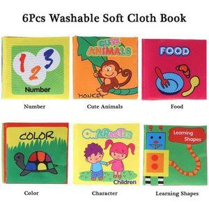 Livre 3-6 ANS livre bébé chiffon doux adapté pour 3 mois à 3 ans