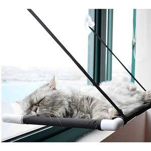 CORBEILLE - COUSSIN 60x31cm Hamac pour chat, Hamac suspendu pour chat,