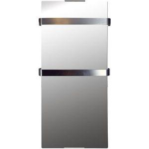 RADIATEUR ÉLECTRIQUE Radiateur Sèche Serviette Miroir 900 W IP24