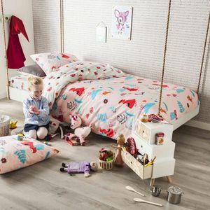 HOUSSE DE COUETTE ET TAIES Parure de lit enfant Chaperon 140x200