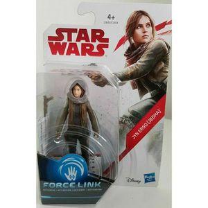 FIGURINE - PERSONNAGE Jyn Erso Jedha-Figurine Force Link Star Wars-Hasbr
