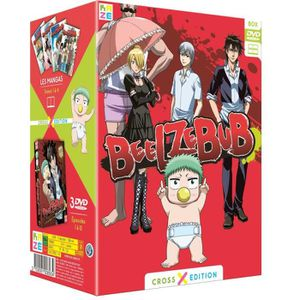 DVD MANGA Beelzebub - Partie 1 - Cross Edition - Coffret DVD