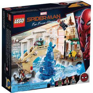 ASSEMBLAGE CONSTRUCTION EGO® Marvel Spider-Man 76129 Spider man et l'attaq
