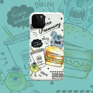 COQUE - BUMPER Coque iPhone 11,Disney Monsters Inc Blanc 1 Premiu