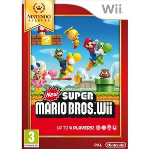 JEU WII NEW SUPER MARIO BROS (WII SELECTS)