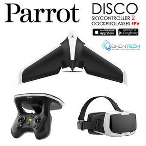 PIÈCE DÉTACHÉE DRONE Pack FPV Drone DISCO Aile Volante + Cockpitglasses