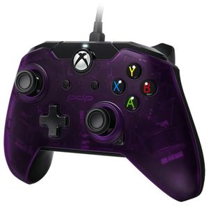 JEU XBOX ONE PDP - Wired Controller Official Xbox One Purple Je