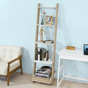 etagere echelle blanche achat vente etagere echelle blanche pas cher soldes d s le 10. Black Bedroom Furniture Sets. Home Design Ideas