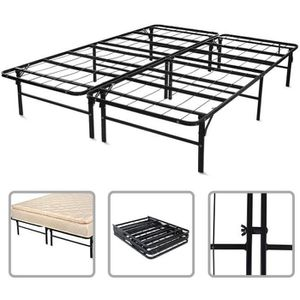 structure de lit en m tal achat vente structure de lit en m tal pas cher cdiscount. Black Bedroom Furniture Sets. Home Design Ideas